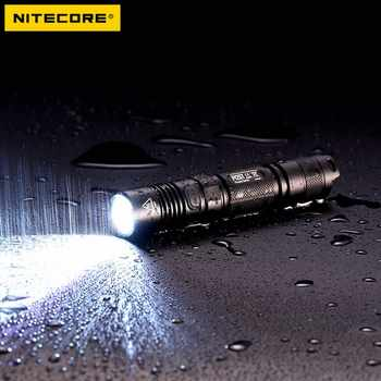 NITECORE 1000 Lumens CREE XP-L HI V3 LED P12GT Tactical Flashlight Without 18650 Battery 7 Modes Pocket EDC Free Shipping