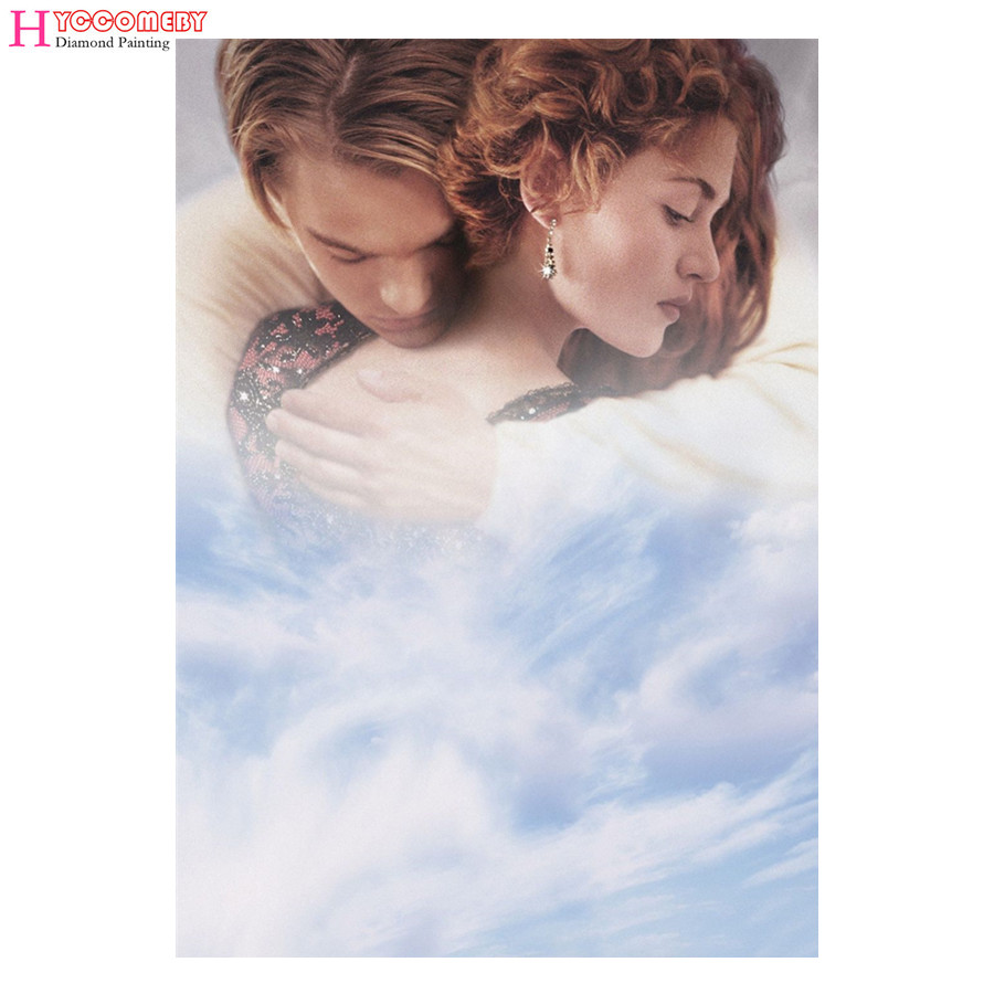 5D Diamond Painting Movie Titanic Dead DIY full round square Diamond Embroidery Diamond Mosaic Cross Stitch decoration gift