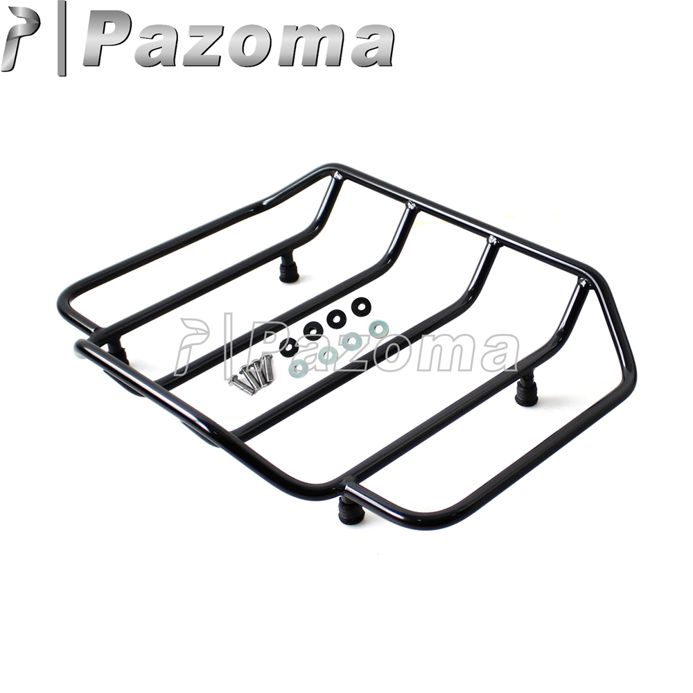 Chrome Led Light Air Wing Trunk Luggage Mounting Rack For Tour Pak Trunk Pack Electra Street Glide Terrific Value Motorcycle Accessories & Parts