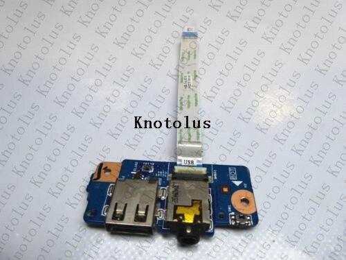 12876 1 48.4LK14.011 48.4LK13.011 48.4LK15.011 FOR Acer V5 122P Power switch Audio Jack Port USB board