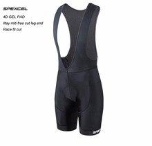 SPEXCEL Высокое качество классический нагрудник шорты для женщин race Велосипедный спорт нижняя Ropa Ciclismo велосипед брюки девочек 4D гель площадку