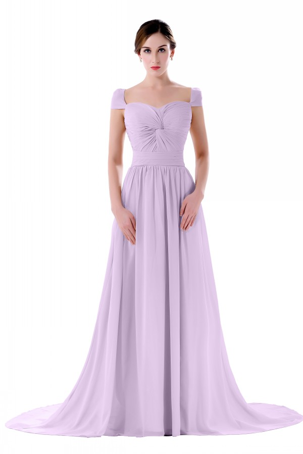 Online Long Mint Green Bridesmaid Dresses Cap Sleeves Maid Of Honor Formal Wedding Party Purple Yellow Plus Size Aliexpress