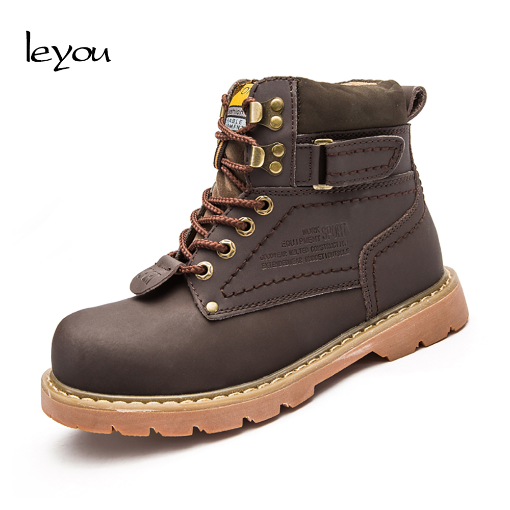 Women Safety Steel Toe Boots High Top Winter Indestructible Military Work  Shoes 61b18cc6e8