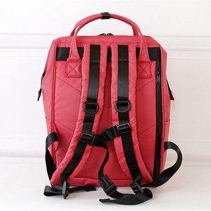 Image 2 - Mochila japonesa nuevos impermeable de gran capacidad, estudiantes masculinos y femeninos paquete bolsa de computadora