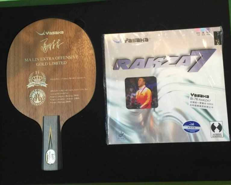 Commemorative edition YASAKA Ma Lin YEO table tennis racket Global limit