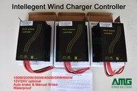 600 W 12 V/24 V Auto/Instrukcja Ładowarka Regulator Regulator Hamulca Zaawansowane Wiatr dla wiatrak turbiny 100 W/200 W/300 W/400 W/500 W/600 W