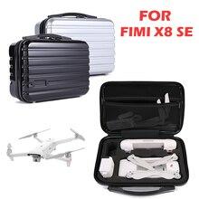 Портативный дорожный жесткий чехол EVA для переноски, водонепроницаемый чехол для хранения FIMI X8 SE Drone, запчасти для дрона, аксессуары для дрона, сумка для дрона