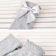2019 New Kids Toddlers Girls Big Bow Knee High Long Soft Cotton Lace Baby Socks Kids socks kids socks meias #25