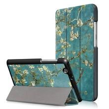 PU чехол для huawei Mediapad T3 7 7,0 3g BG2-U01 7 дюймов+ Защитная пленка для экрана подарок