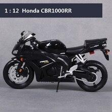 Maisto 1:12 modelli di moto per honda cbr1000rr modelli di auto da corsa moto diecast in metallo bambini giocattoli per i bambini
