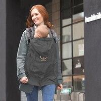Baby Carrier Cloak Mantle Cover Waterproof Baby Backpack Carrier Cover Baby Rainproof Cloak Windproof Suspender Thin