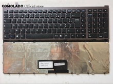 FR French Keyboard for Sony VAIO VGN-AW VGNAW Series Black With Frame Laptop Keyboard FR Layout все цены