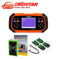 Hot Selling OBDSTAR X300 PRO3 Key Master OBDII X300 Key Programmer Odometer Correction Tool with EEPROM/PIC Update Online dhl
