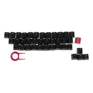 Image 4 - Klawisze PBT 37 klawisze podświetlane z podwójnym strzałem Translucidus do klawiatury mechanicznej
