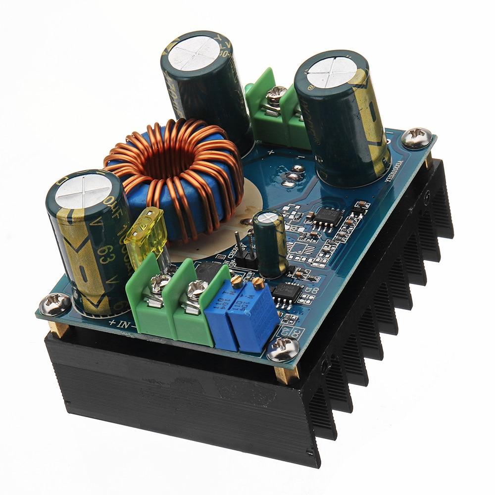600W 12A DC 8V To 16 V Or DC 12V To 60V Adjustable Boost Converter Power Supply Board Step-Up Module600W 12A DC 8V To 16 V Or DC 12V To 60V Adjustable Boost Converter Power Supply Board Step-Up Module