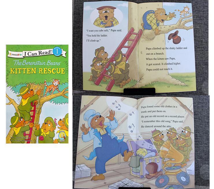 25 권의 책/세트 나는 파닉스 책을 읽을 수있다 나의 첫번째 berenstain 곰 아이들을위한 영어 그림 이야기 책 아이들 독서 책의  그룹 3