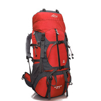 LOCALLION Professional mountaineering bag outdoor travel backpack hiking camping men and women shoulder bag large capacity 65L