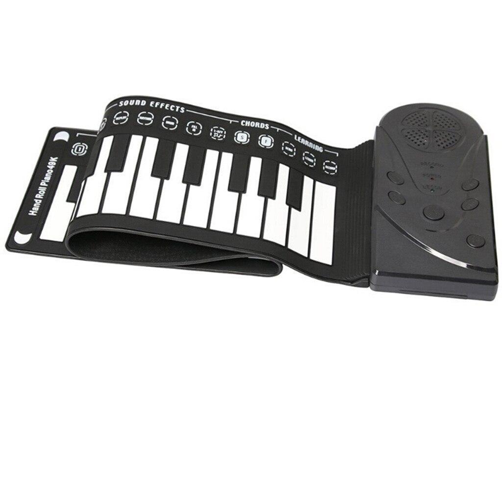 Flexible retrousser clavier électronique souple Piano Portable 49 touches cadeau pour les enfants - 4