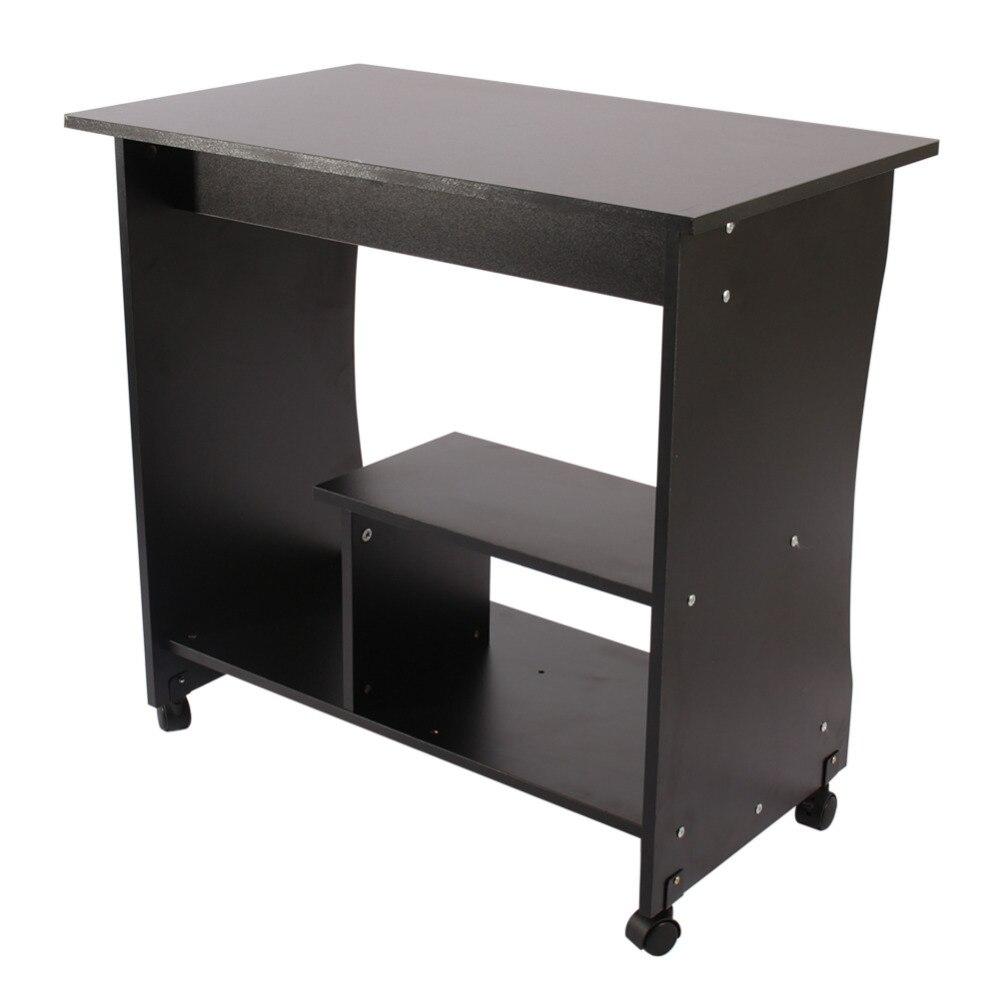 Desktop Notebook Computer Desk Bed Side Laptop Pulley Table Household Corner Table For Home