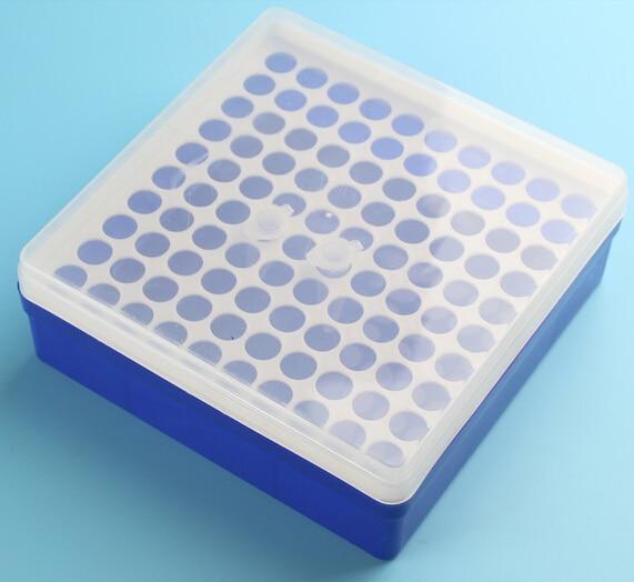 1,5-mililitrska plastična mikro centrifugalna cev za stojalo Polje 100 Položaj Lab Centrifugalna Socketstube škatla.