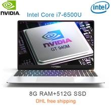 "P10-05 8G RAM 512G SSD Intel i7-6500u 15.6 Gaming laptop 2.5GHZ-3.1GHZ NvIDIA GeForce 940M 2G with Backlit keyboard"""