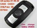 Para BMW CAS3 tecla inteligente 3 5 5series X1 X6 Z4 315LP MHZ/868 MHZ/434 MHZ/315 MHZ ID7944 para E60.E61. E90.E92. E93.E70.71.72