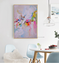 Hand painted oil painting wall art abstract paintings on canvas