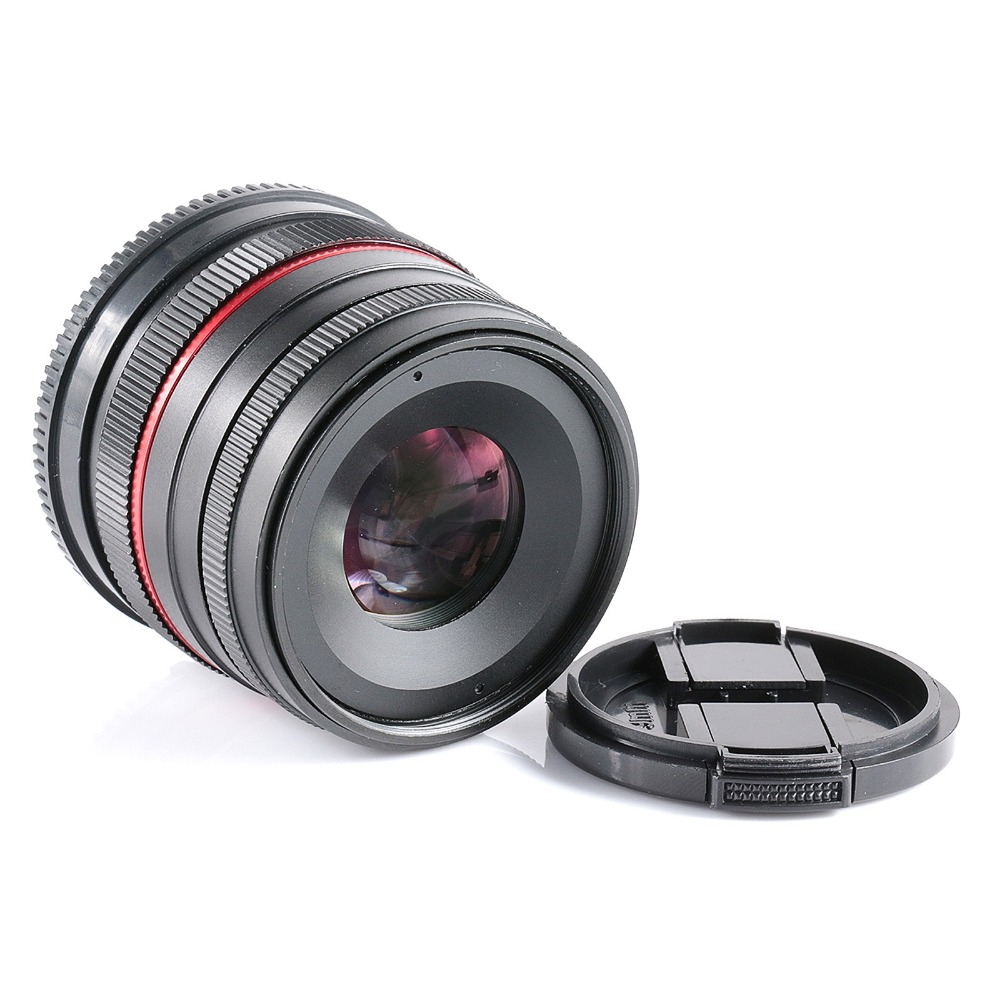New APSC 50mm F1.8 Manual Wide Angle Lens for Olympus Panasonic M43 EP3 OMD EM5