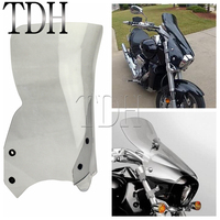 Smoke Polycarbonate Motorcycle Windscreen Windshield Wind Deflector For Suzuki Boulevard M109R M50 M90 2006 2016