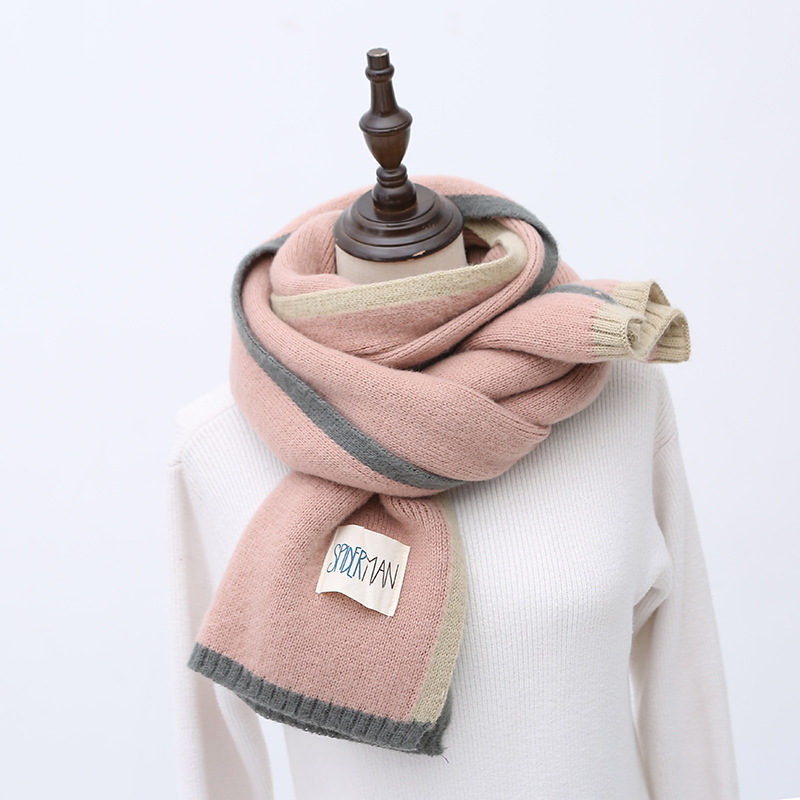 New Arrival Women Fashion Winter Pineapple Scarf Wool Knitted Scarves Shawls Women Thick Warmer Cowl Neck Winter Scarfs Stoles