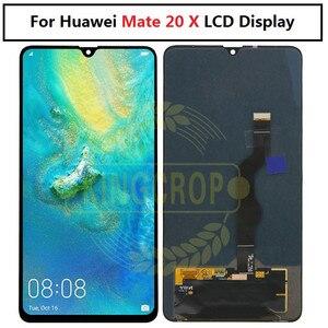 Image 4 - Para huawei companheiro 20 display lcd de toque digitador da tela substituição para huawei companheiro 20 x para huawei mate20 HMA AL00 lcd com quadro
