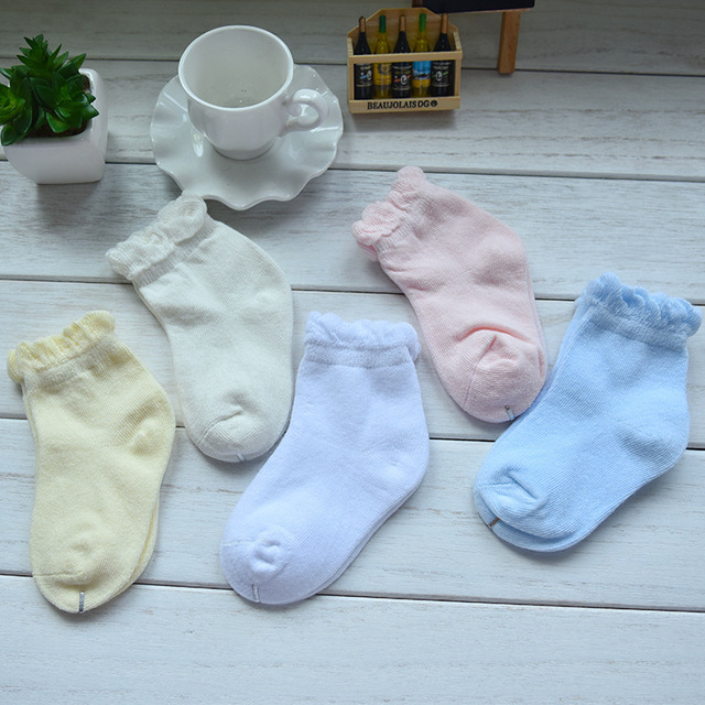 Kids Clothes Clearance 1 5t Kids Socks Solid Color Cute Lace Socks