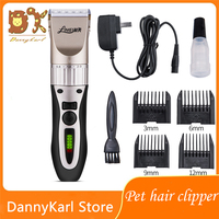 DannyKarl Pets Hair Cut Large Dogs Shaver Teddy Cat Electric Hair Clippers High power Electric Hair Clippers Shaver