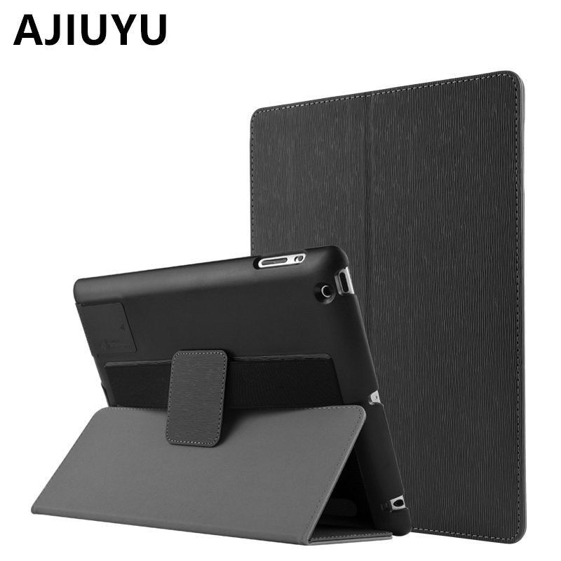 AJIUYU Case For Apple iPad 4 iPad3 iPad2 Protective Smart cover Protector Leather PU Tablet For iPad4 iPad 3 2 Sleeve Cases 9.7 nice soft silicone back magnetic smart pu leather case for apple 2017 ipad air 1 cover new slim thin flip tpu protective case