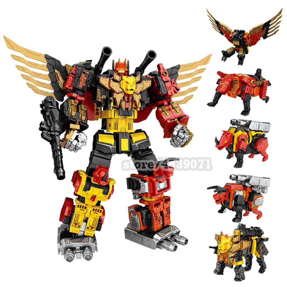 Rex-Figure-Toy Transformation Oversize Tiger Predaking Feral WJ Fierce Divebomb