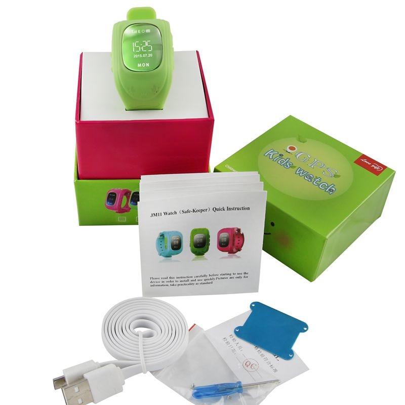 Dispositivo de localización gps tracker para niños seguros smart watch llamada s