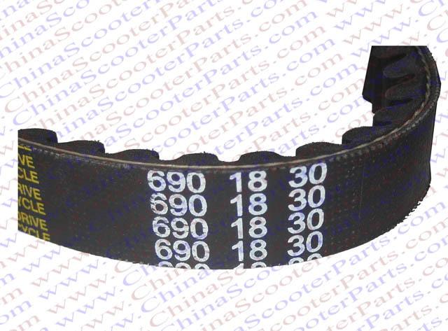 690 18 30 cvt drive belt gy6 49cc 50cc 139qmb scooter atv. Black Bedroom Furniture Sets. Home Design Ideas
