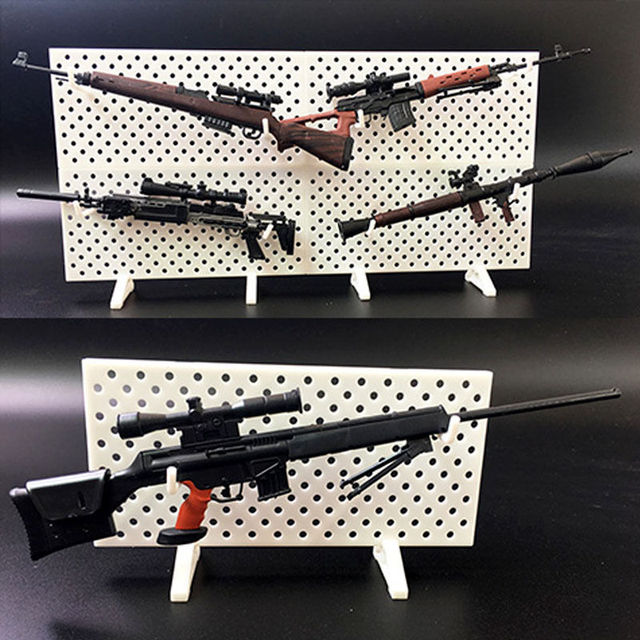 4pcs/set 1/6 Scale Modular Weapons Display Wall Show Storage Stand For Action Figures Gun Model 2