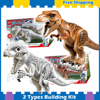 Jurassic World Dino Indominus Rex Zach Simon Masrani dinosaur 79151 Model Building Blocks Kids Gifts sets Compatible With Lego