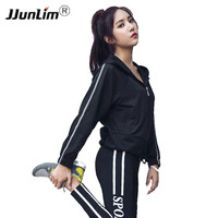 Women Hooded Running Shirts Slim Sport Jersey Breathable Sportswear Fitness Yoga Top Sports Clothing Workout T Shirt Gym Jacket