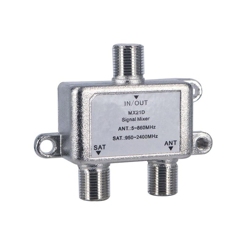 Kvaliteetne 2 in 1 kahesuguse kasutusega kahesuunaline diplexer TV - Kodu audio ja video - Foto 2