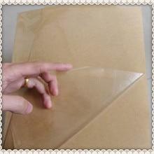Самоклеющиеся наклейки A4 пустые прозрачные/прозрачные ПЭТ этикетки бумага для лазерного принтера или используется для ламинирования пленки