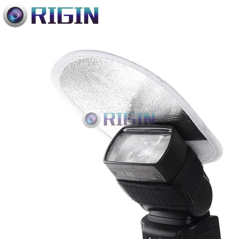 Camera flash Accessories Mini Reflector MRF 01 2 IN 1 White and Silver For Camera Flash