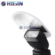 Камера flash Аксессуары мини Отражатели MRF-01 2 в 1 белый и серебристый для Камера флэш-бесплатная доставка