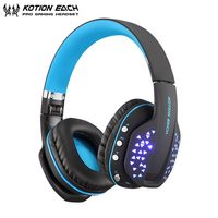 KOTION EACH B3507 Fodable Bluetooth Headphones Wireless Stereo Portable Sport Earphone Headset with Microphone for iPhone Xiaomi