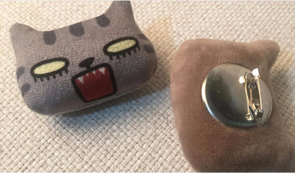 Timlee X096 Cartoon Cute Kitty Dog Pet Pet Soft Plush Metal Plush - Bizhuteri të modës - Foto 5