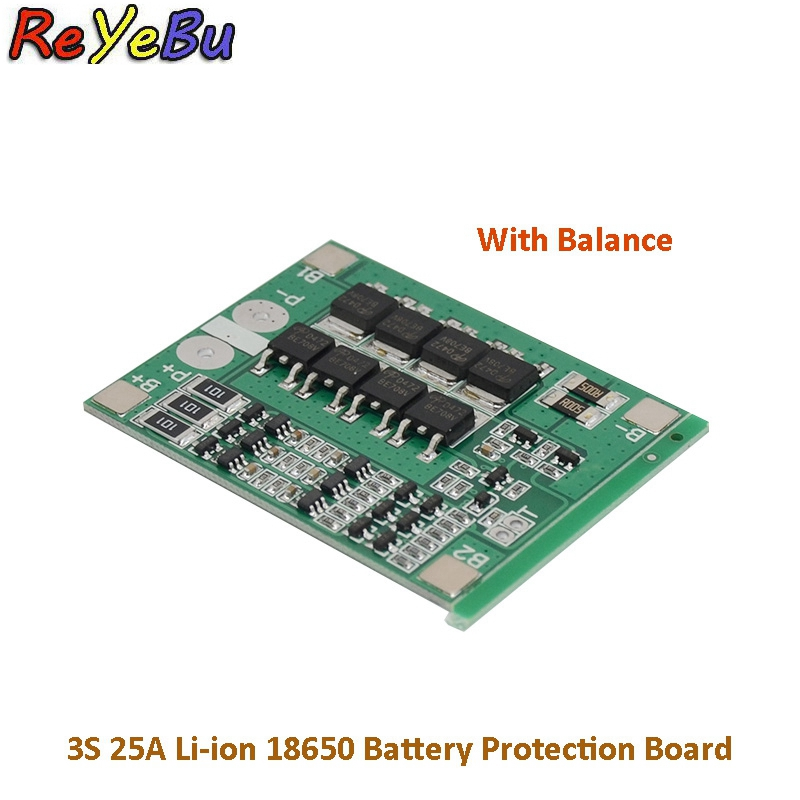 Power Source Honest 3s 40a 18650 Li-ion Lithium Battery Charger Protection Board Pcb Bms For Drill Motor 11.1v 12.6v Lipo Cell Module Great Varieties