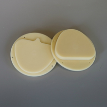 цена на 5pcs 89x71x20mm Dental Lab Material Pmma Disk A1 A2 A3 Dental PMMA Block for Amann Girrbach CAD/CAM Milling System