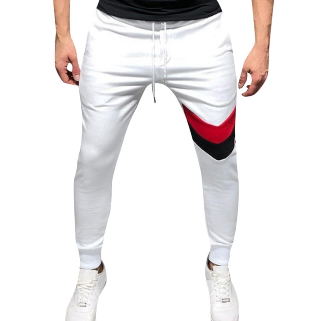 Men New Fashion Casual Outdoor Fitness Sports Running Drawstring Long Pants Pantalones Hombre Streetwear Joggers Pantalon Homme