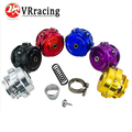 VR RACING- FREE SHIPPING 50mm Blow Off Valve BOV with v-band Flange,Spring and logo VR5766